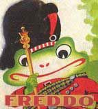 Chocolate History Tour Freddo Frog