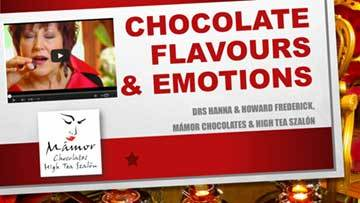 chocolate flavours and emotions title slide 360